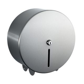 Stainless Steel Mini Jumbo Toilet Roll Holder image