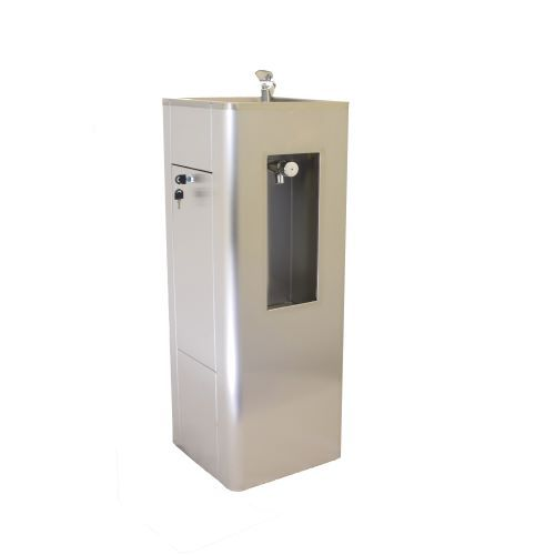Bottle Filler Drinking Fountains In Stainless Steel image
