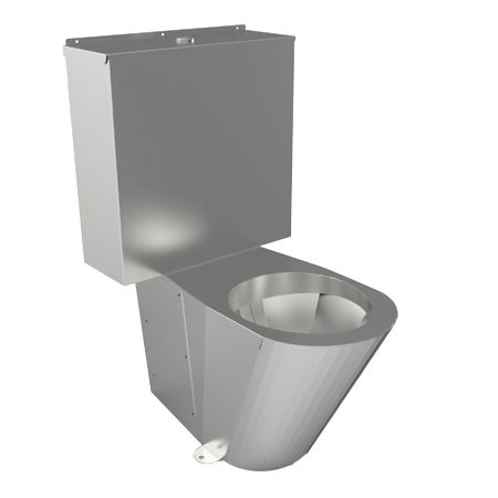 Stainless Steel Close Coupled WC Suite image
