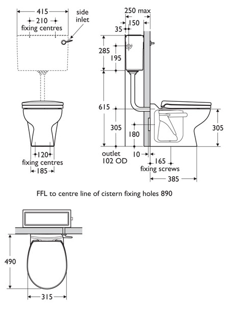 toilet sizes dimensions uk. Inspiring Toilet Sizes Dimensions Uk Photos  Best inspiration Remarkable Contemporary idea