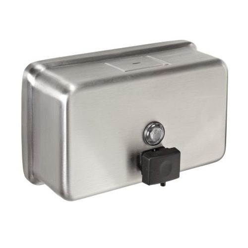 Horizontal Stainless Steel Soap Dispensers