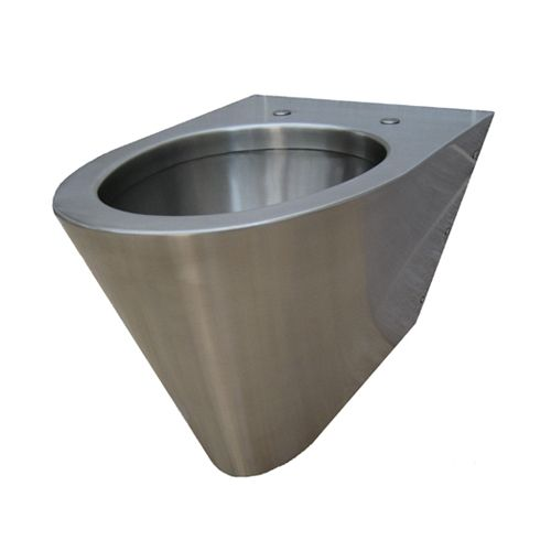 Wall Hung Stainless Steel Toilets For Schools & Colleges
