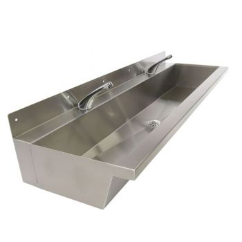 large trough sinks with spouts
