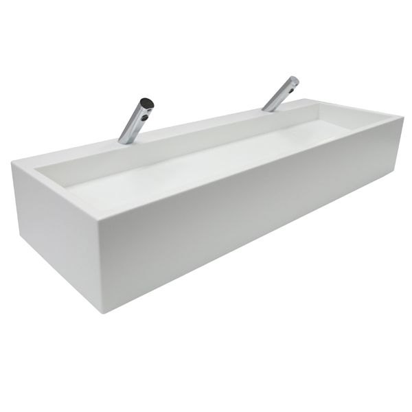 Solid Surface Incline Trough Sinks image