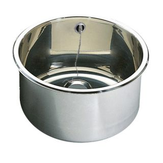 Inset Cylindrical Wash Basins With Overflow image