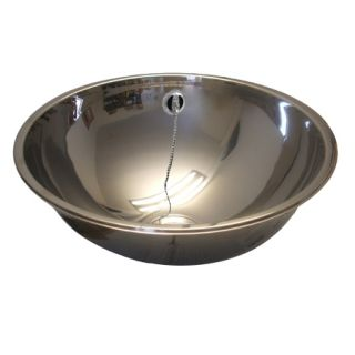 Inset Polished Round Wash Basin image
