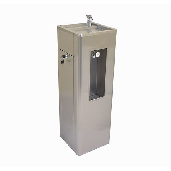 Junior Drinking Fountain Bottle Fillers In Stainless Steel image