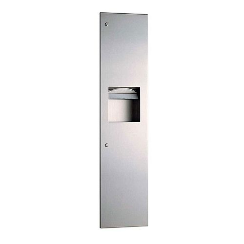Recessed Combined Towel Dispenser And Waste Bin image