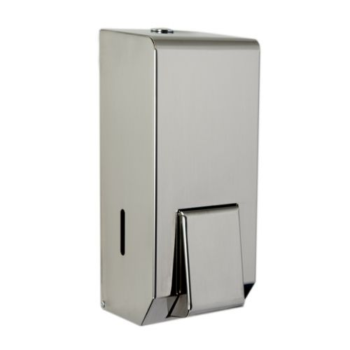 Polished Stainless Steel Foam Soap Dispenser image
