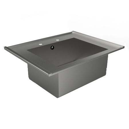 Single Bowl Inset Catering Sink image