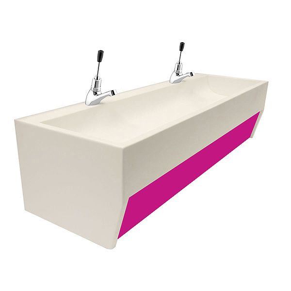 Solid Surface Children's Trough Sinks