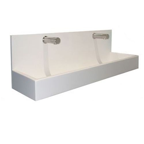 Sit-On Splashback Trough Sinks For Schools image