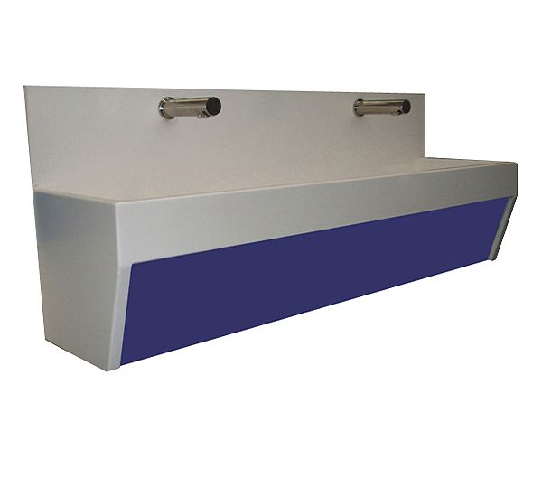 Solid Surface Splashback Trough Sinks image