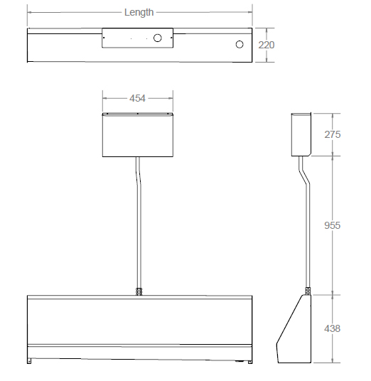 stainless steel urinal dimensions