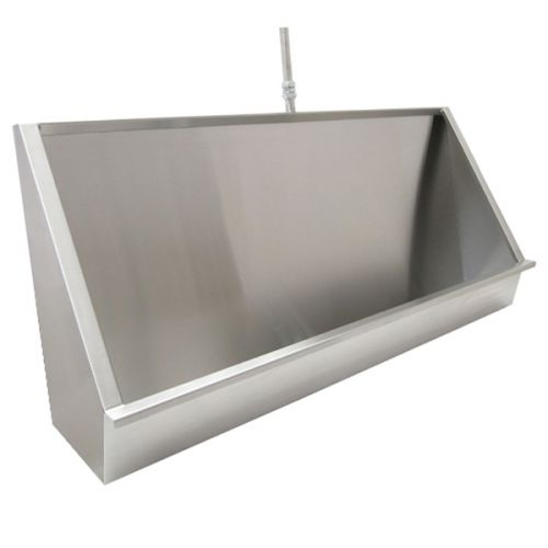 Vandal Resistant Trough Urinals In Stainless Steel image