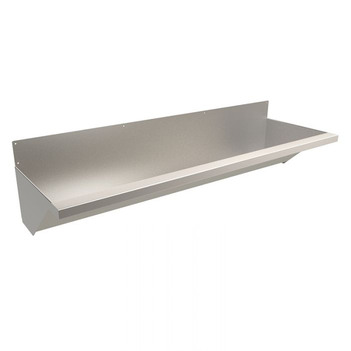 Tapless Trough Sinks With Stainless Steel Splashbacks