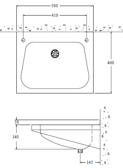 stainless steel heavy duty wash basin dimensions